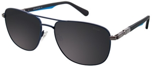 Aspex B6516 Satin Dark Navy w/ Grey Lenses  50