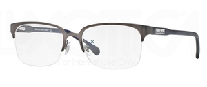 Brooks Brothers BB1029 Satin Gunmetal/Dark Blue