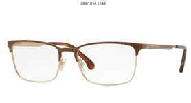 Brooks Brothers BB1054 Brown/Gold