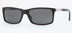 Brooks Brothers BB5014 Matte Black Polar Gray