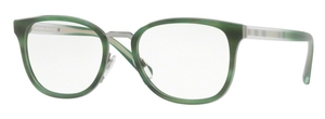 Burberry BE2256 STRIPED MATTE GREEN