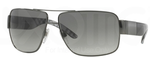 Burberry BE3040 Gunmetal w/ Grey Gradient Lenses