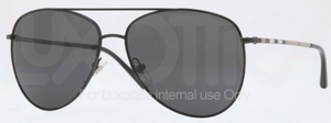 Burberry BE3072 Black with Dark Grey Lenses
