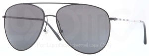 Burberry BE3072 Black with Grey Lenses