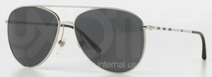 Burberry BE3072 Silver with Grey Lenses