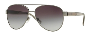 Burberry BE3084 Gunmetal 10038G