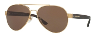Burberry BE3086 Brushed Gold