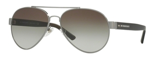 Burberry BE3086 Brushed Gunmetal