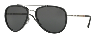 Burberry BE3090Q Gunmetal/Matte Black