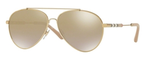 Burberry BE3092Q Light Gold 11456E