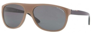 Burberry BE4143 Top Transparent/Brown with Grey Lenses