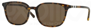 Burberry BE4144 Dark Havana w/ Brown Lenses