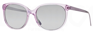 Burberry BE4146 Lilac w/ Light Grey Mirror Grad. Silver Lenses