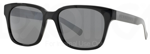 Burberry BE4148 Black w/ Gray Mirror Silver Lenses