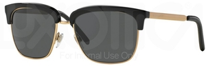 Burberry BE4154Q Black/Gold w/ Gray Lenses