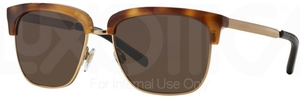 Burberry BE4154Q Brown Havana/Gold w/ Brown Lenses