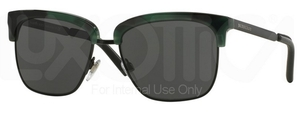 Burberry BE4154Q Spotte Green w/ Grey Lenses