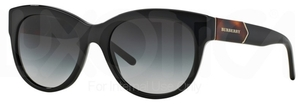 Burberry BE4156 Black w/ Grey Gradient Lenses