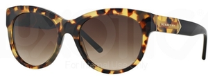 Burberry BE4156 Yellow Havana w/ Brown Gradient Lenses