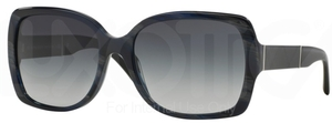 Burberry BE4160 Blue Horn w/ Gray Gradient Lenses