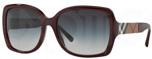 Burberry BE4160 Bordeaux w/ Gray Gradient Lenses