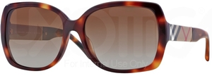 Burberry BE4160 Light Havana w/ POLAR Brown Gradient Lenses