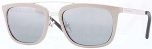 Burberry BE4167Q Beige w/ Grey Mirror Silver Gradient Lenses