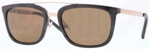 Burberry BE4167Q Black w/ POLAR Brown Lenses