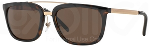 Burberry BE4167Q Dark Havana w/ Brown Lenses