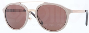 Burberry BE4168Q Beige w/ Brown Lenses