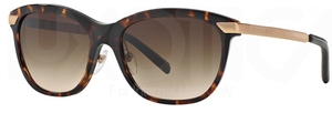 Burberry BE4169Q Dark Havana w/ Brown Gradient Lenses