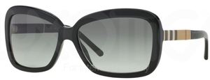 Burberry BE4173 Black w/ Gray Gradient Lenses
