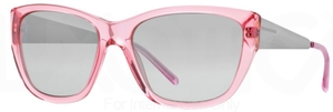 Burberry BE4174 Pink w/ Grey Mirror Silver Gradient Lenses