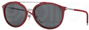Burberry BE4177 Matte Red w/ Grey Lenses