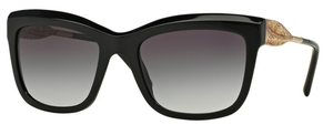Burberry BE4207 Black with Gray Gradient Lenses
