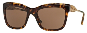 Burberry BE4207 Dark Havana with Brown Lenses