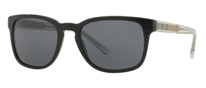 Burberry BE4222 Black w/ Grey Lenses