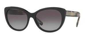 Burberry BE4224 Black w/ Gray Gradient Lenses