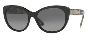 Burberry BE4224 Black w/ Polar Grey Gradient Lenses