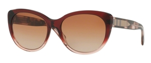 Burberry BE4224F Brown Gradient Pink