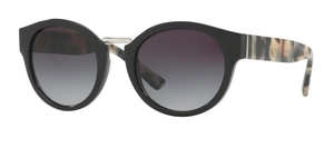 Burberry BE4227 Black w/ Grey Gradient Lenses