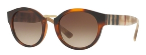 Burberry BE4227 Light Havana w/ Brown Gradient Lenses