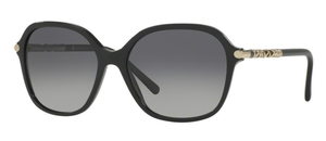 Burberry BE4228 Black w/ Polar Grey Gradient Lenses