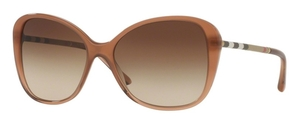 Burberry BE4235QF Brown Gradient