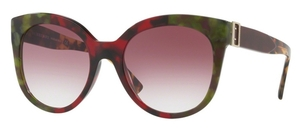 Burberry BE4243 Havana Green/Bordeaux/Gr
