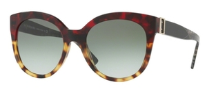 Burberry BE4243F Red Havana/Light Havana