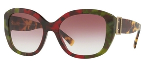 Burberry BE4248 Havana Green/Bordeaux/Gr