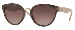 Burberry BE4249 SPOTTED BROWN