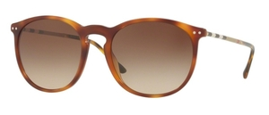 Burberry BE4250Q Light Havana w/ Brown Gradient Lenses