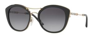 Burberry BE4251Q Black w/ Polar Grey Gradient Lenses